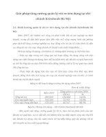 Giải pháp tăng cường quản lý rủi ro tớn dụng tại chi nhỏnh Eximbank Hà Nội