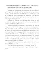 GIỚI THIỆU TỔNG QUAN VỀ NHÀ MÁY THIẾT BỊ BƯU ĐIỆN