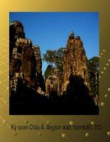 Kỳ quan châu Á Angkor Watt. 013