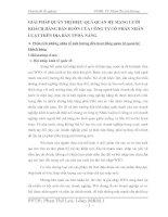 GIẢI PHÁP QUẢN TRỊ HIỆU QUẢ QUAN HỆ MẠNG LƯỚI KHÁCH HÀNG BÁN BUÔN CỦA CÔNG TY CỔ PHẤN NHÂN LUẬT TRÊN ĐỊA BÀN TP ĐÀ NẴNG