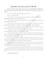 TÀI LIỆU ÔN HỌC SINH GIỎI SỬ 9
