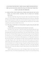 GIẢI PHÁP NHẰM PHÁT TRIỂN HOẠT ĐỘNG KINH DOANH THẺ TẠI NGÂN HÀNG THƯƠNG MẠI CỔ PHẦN KỸ THƯƠNG VIỆT NAM TECHCOMBANK