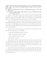 THỰC TRẠNG KẾ TOÁN BÁN HÀNG VÀ XÁC ĐỊNH KẾT QUẢ TIÊU THỤ TẠI CÔNG TY TNHH THƯƠNG MẠi VÀ SẢN XUẤT ĐỨC ANH