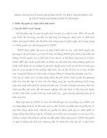 PHÂN CẤP QUẢN LÝ NGÂN SÁCH NHÀ NƯỚC VÀ THỰC TRẠNG PHÂN CẤP QUẢN LÝ NGÂN SÁCH NHÀ NƯỚC Ở VIỆT NAM