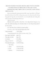 MỘT SỐ GIẢI PHÁP ỨNG DỤNG PHƯƠNG PHÁP TỶ SỐ VÀ SO SÁNH VÀO PHÂN TÍCH TÀI CHÍNH CÔNG TY MAY ĐỨC GIANG
