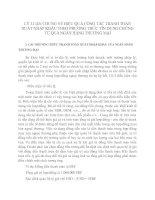 LÝ LUẬN CHUNG VỀ HIỆU QUẢ CÔNG TÁC THANH TOÁN XUẤT NHẬP KHẨU THEO PHƯƠNG THỨC TÍN DỤNG CHỨNG TỪ QUA NGÂN HÀNG THƯƠNG MẠI