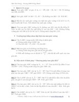 Bài tập nâng cao Hình học 7 - CIII