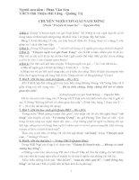Bài tập luyện Văn 9