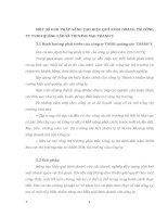 MỘT SỐ GIẢI PHÁP NÂNG CAO HIỆU QUẢ KINH DOANH TẠI CÔNG TY TNHH QUẢNG CÁO VÀ THƯƠNG MẠI THANH