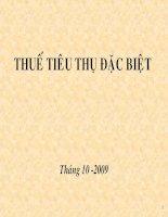 Bai giang Thue TTDB