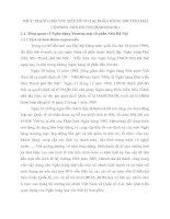 THỰC TRẠNG CHO VAY TIÊU DÙNG TẠI NGÂN HÀNG THƯƠNG MẠI CỔ PHẦN NHÀ HÀ NỘI