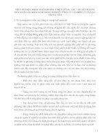 MỘT SỐ BIỆN PHÁP NHẰM HOÀN THIỆN CÔNG TÁC LẬP KẾ HOẠCH SẢN XUẤT KINH DOANH HÀNG NĂM Ở CÔNG TY CỔ PHẦN Ô TÔ VẬN TẢI HÀ TÂY