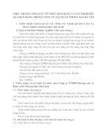 THỰC TRẠNG CÔNG TÁC TỔ CHỨC BÁN HÀNG VÀ XÁC ĐỊNH KẾT QUẢ BÁN HÀNG TRONG CÔNG TY SẢN XUÂT THƯƠNG MẠI HÀ NỘI