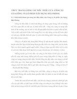 THỰC TRẠNG CÔNG TÁC ĐẤU THẦU CỦA  CÔNG TY CỦA CÔNG TY CỔ PHẦN XÂY DỰNG HẢI PHÒNG