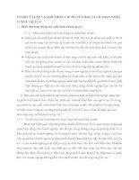 CƠ SỞ LÝ LUẬN VÀ GIỚI THIỆU CHUNG VỀ CÔNG TY CỔ PHẦN NĂNG LƯỢNG VIỆT ÚC