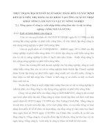 THỰC TRẠNG HẠCH TOÁN XUẤT KHẨU HÀNG HÓA VÀ XÁC ĐỊNH KẾT QUẢ TIÊU THỤ HÀNG XUẤT KHẨU TẠI CÔNG TY XUẤT NHẬP KHẨU NÔNG LÂM SẢN VÀ VẬT TƯ NÔNG NGHIỆP