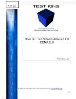 Cisco Certified Network Associate 2.0 CCNA 2.0 Version 3.0