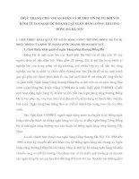 THỰC TRẠNG CHO VAY AN TOÀN VÀ RỦI RO TÍN DỤNG ĐỐI VỚI KINH TẾ NGOÀI QUỐC DOANH TẠI NGÂN HÀNG CÔNG THƯƠNG ĐỐNG ĐA HÀ NỘI