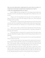 MỘT SỐ GIẢI PHÁP HOÀN THIỆN BỘ MÁY QUẢN TRỊ TẠI CÔNG TY TNHH NHÀ NƯỚC MỘT THÀNH VIÊN CƠ KHÍ QUANG TRUNG