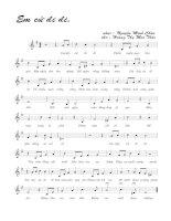 Bài hát em cứ đi đi - Nguyễn Minh Châu (lời bài hát có nốt)