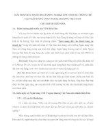 GIẢI PHÁP ĐẨY MẠNH HOẠT ĐỘNG MARKETING CHO HỆ THỐNG THẺ TẠI NGÂN HÀNG TMCP NGOẠI THƯƠNG VIỆT NAM