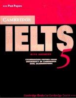 Cambridge Practice Tests for IELTS 5