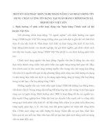 MỘT SỐ GIẢI PHÁP  KIẾN NGHỊ NHẰM NÂNG CAO HOẠT ĐỘNG TÍN DỤNG  CHẤT LƯỢNG TÍN DỤNG TẠI NGÂN HÀNG CHÍNH SÁCH XÃ HỘI HUYỆN VIỆT YÊN
