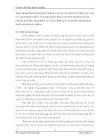 MỘT SỐ KIẾN NGHỊ NHẰM NÂNG CAO SỰ AN TOÀN VÀ ĐỘ TIN CẬY CỦA PHƯƠNG THỨC THANH TOÁN TRỰC TUYẾN TRONG GIAO DỊCH THƯƠNG MẠI ĐIỆN TỬ CỦA CÔNG TY CỔ PHẦN GIẢI PHÁP PHẦN MỀM HÒA BÌNH