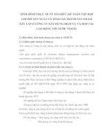 TÌNH HÌNH THỰC TẾ VỀ TỔ CHỨC KẾ TOÁN TẬP HỢP CHI PHÍ SẢN XUẤT VÀ TÍNH GIÁ THÀNH SẢN PHẨM XÂY LẮP Ở CÔNG TY XÂY DỰNG DỊCH VỤ VÀ HỢP TÁC LAO ĐỘNG VỚI NƯỚC NGOÀI
