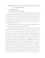 Chương I CƠ SỞ LÝ LUẬN VỀ BHXH VÀ CÔNG TÁC QUẢN LÝ THU QUỸ BHXH