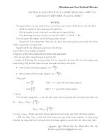 Cơ sở lý thuyết hóa học _Chương 2
