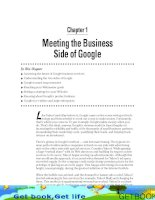 Meeting the Business Side of Google
