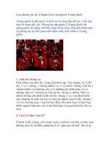 Các phong tục lạ về Đám Cưới của người Trung Quốc
