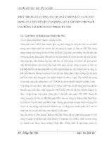 THỰC TRẠNG CỦA CÔNG TÁC QUẢN LÝ NHÂN LỰC VÀ SỰ TÁC ĐỘNG CỦA NÓ TỚI VIỆC TẠO ĐỘNG LỰC LÀM VIỆC CHO NGƯỜI LAO ĐỘNG TẠI KHÁCH SẠN NIKKO HÀ NỘI