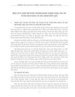 MỘT SỐ Ý KIẾN ĐỀ XUẤT NHẰM HOÀN THIỆN CÔNG TÁC KẾ TOÁN BÁN HÀNG VÀ XÁC ĐỊNH KẾT QUẢ