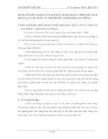 MỘT SỐ KIẾN NGHỊ VÀ GIẢI PHÁP NHẰM HOÀN THIỆN BỘ MÁY QUẢN LÝ TẠI CÔNG TY TẠP PHẨM VÀ BẢO HỘ LAO ĐỘNG
