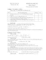 Tong hơp đề thi học kỳ I toán 9 nhom 2
