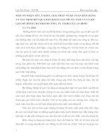 MỘT SỐ NHẬN XÉT, Ý KIẾN, GIẢI PHÁP VỀ KẾ TOÁN BÁN HÀNG VÀ XÁC ĐỊNH KẾT QUẢ BÁN HÀNG TẠI TRUNG TÂM CN VÀ KD GAS MỸ ĐÌNH CHI NHÁNH CÔNG TY TNHH TÂN AN BÌNH