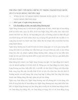 PHƯƠNG THỨC TÍN DỤNG CHỨNG TỪ TRONG THANH TOÁN QUỐC TẾ CỦA NGÂN HÀNG THƯƠNG MẠI