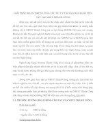 GIẢI PHÁP HOÀN THIỆN CÔNG TÁC XỬ LÝ TÀI SẢN BẢO ĐẢM TIỀN VAY TẠI NHNT THÀNH CÔNG