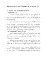 SINH LÝ CHỐNG CHỊU CỦA THỰC VẬT VỚI CÁC ĐIỀU KIỆN BẤT LỢI