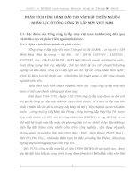 PHÂN TÍCH TÌNH HÌNH ĐÀO TẠO VÀ PHÁT TRIỂN NGUỒN NHÂN LỰC Ở TỔNG CÔNG TY LẮP MÁY VIỆT NAM