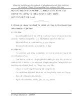 MỘT SỐ BIỆN PHÁP NHẰM CẢI THIỆN TÌNH HÌNH TÀI CHÍNH TẠI CÔNG TY LIÊN DOANH KHAI THÁC CONTAINER VIỆT NAM