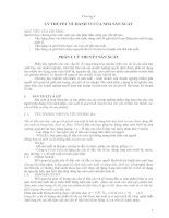 Chương 4: Hành vi của nhà sản xuất