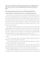 THỰC TRẠNG VỀ  KẾ TOÁN TIÊU THỤ HÀNG HOÁ VÀ XÁC ĐỊNH KẾT QUẢ TIÊU THỤ TẠI CÔNG TY TRÁCH NHIỆM HỮU HẠN THƯƠNG MẠI HẠNH ĐỨC