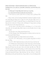 PHÂN TÍCH THỰC TRẠNG KINH DOANH VÀ CHÍNH SÁCH  MARKETING CỦA TRUNG TÂM ĐIỀU HÀNH DU LỊCH ĐƯỜNG SẮT HÀ NỘI