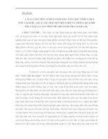 NÂNG CAO CHẤT LƯỢNG GIÁO DỤC ÂM NHẠC THÔNG QUA VIỆC CẢI BIÊN, SÁNG TÁC MỘT SỐ TRÒ CHƠI VÀ THÔNG QUA ĐỜI SỐNG HẰNG NGÀY ĐỐI VỚI TRẺ Ở TRƯỜNG MẦM NON