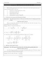Nguyên hàm các hàm số siêu việt