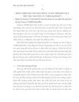 HOÀN THIỆN KẾ TOÁN BÁN HÀNG VÀ XÁC ĐỊNH KẾT QUẢ TIÊU THỤ TẠI CÔNG TY TNHH MẠNH ĐỨC