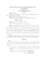 ĐỀ KIỂM TRA CHẤT LƯỢNG HSG LỚP 5 (Lần 3)